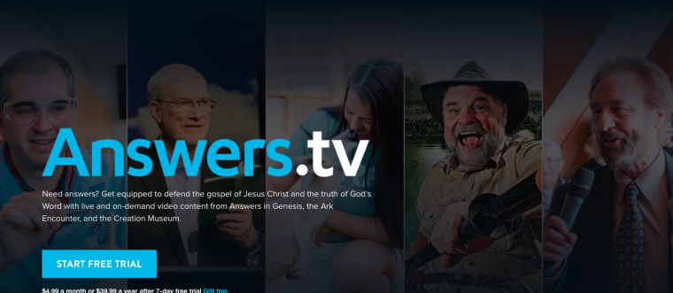 Answers in Genesis launches faith-focused streaming service amid COVID-19 shutdown